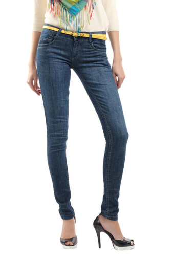 Picture of Kraus Jeggings Blue Jeans