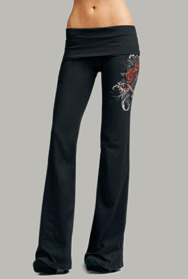 Picture of Yoga Pants Interactive Black