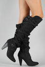 Picture of UrbanOG Kneehigh Denim Boot