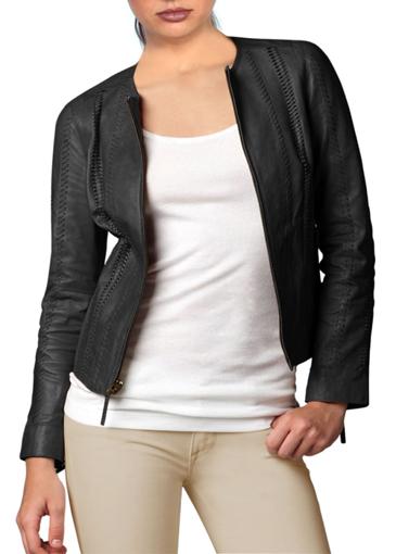 Picture of Biker Leather Design Jacket