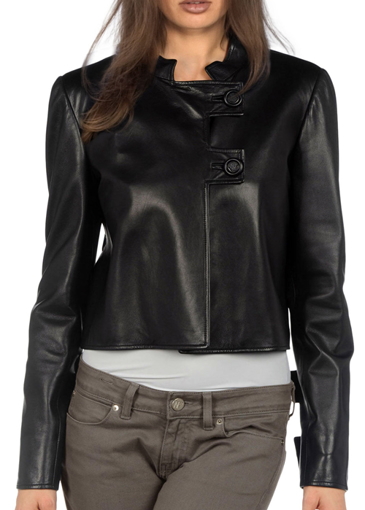 Picture of Modern Style Buttonless Design Jacket