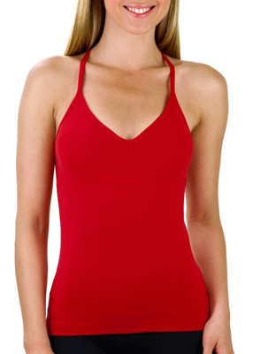 Picture of Long Red Women's Sport Top